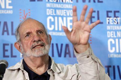 Brian de Palma en 2016 au Festival international du film d'Amérique Latine à Cuba