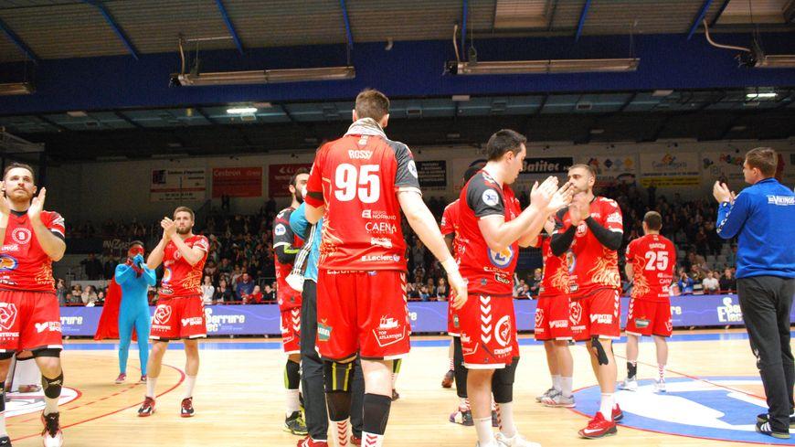 Battus mais maintenus, les handballeurs caennais joueront une troisième saison de suite en Proligue