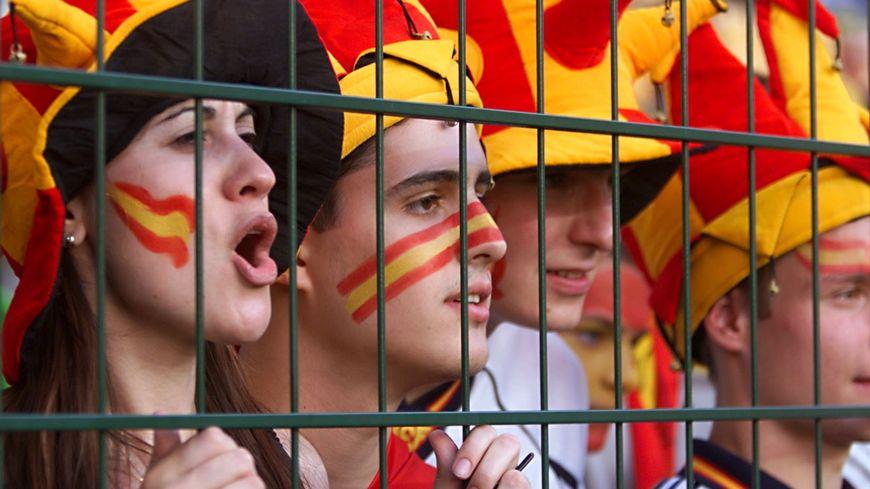 Les supporters espagnols ont pris possession du Chaudron.