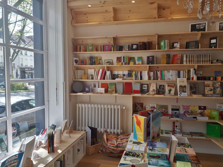 Dans la librairie de Fabienne