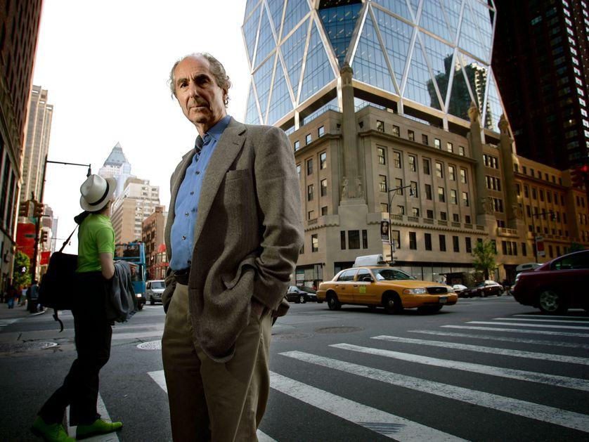Philip Roth à New York en 2007