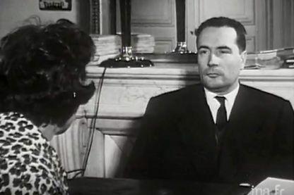 François Mitterrand interrogé par Danièle Breem