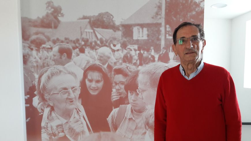 Claude Pichot, survivant du massacre du village de Dun-les-Places
