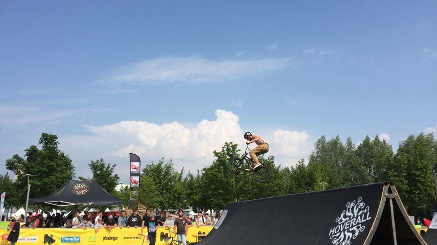 Les compétitions de BMX et BMX Freestyle ont battu leur plein.