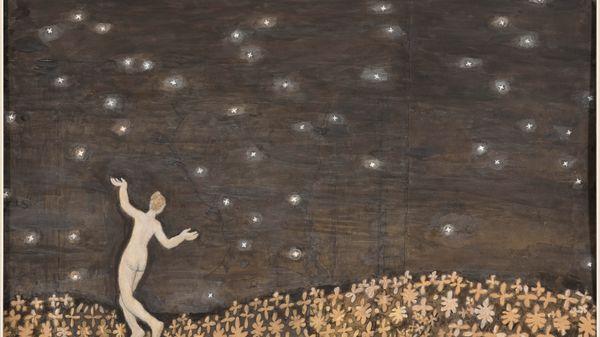 """Quelle musique voyez-vous sur le tableau : """"Sous les étoiles"""" de Kristjan Raud ?"""