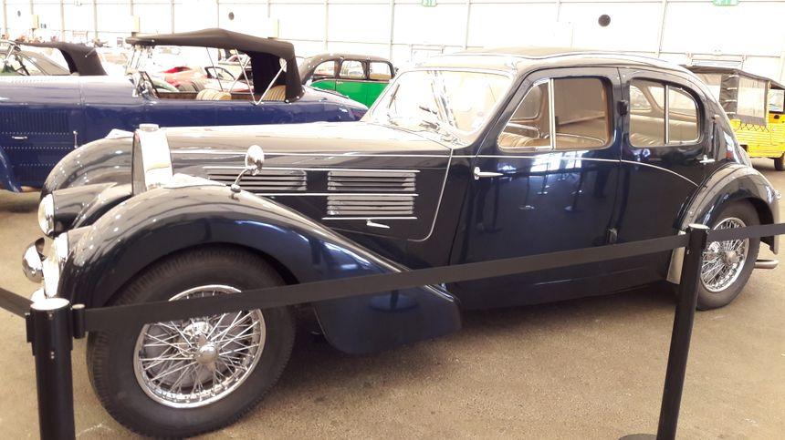 Bugatti type 57, à Strasbourg le 1er mai 2018 - Radio France