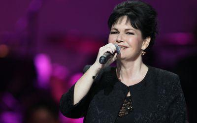 La chanteuse Maurane lors des Victoires de la Musique 2013