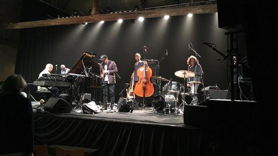 Craig Taborn Quartet à l'Abbaye Royale de l'Epau au Mans le 02 mai 2018
