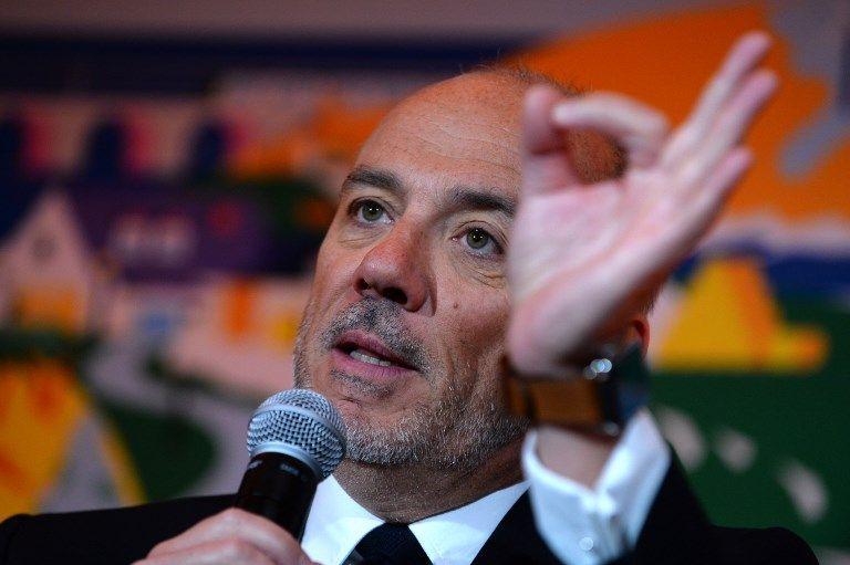 Stéphane Richard, candidat pour un troisième mandat, a soigné sa communication.