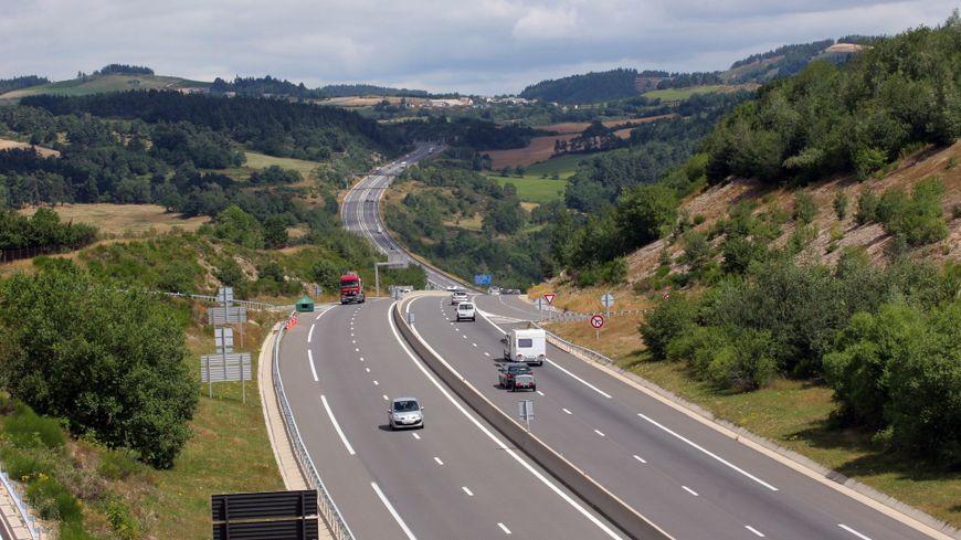 """L'autoroute A75 appelée aussi  """"Meridienne"""""""