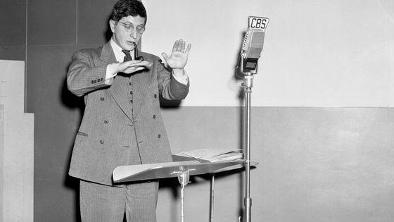 Bernard Herrmann lors d'une répétition en 1941
