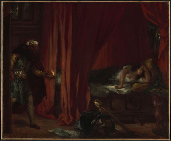 Eugène Delacroix, Othello et Desdémone. 1847-1849. Salon de 1849. Huile sur toile. 51 x 62 cm. Ottawa, National Gallery of Canada