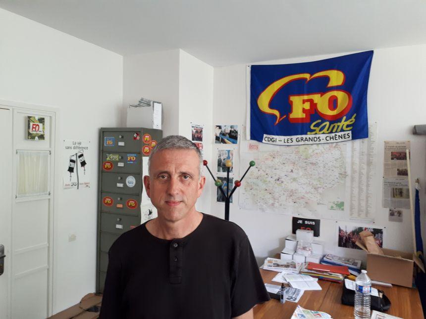 Patrice Le Bail, secrétaire général FO santé dans l'Indre