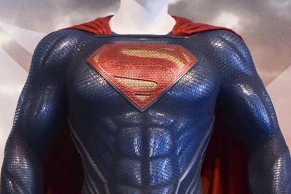 Superman a 80 ans. Ici, sa statue à Burbank en Californie
