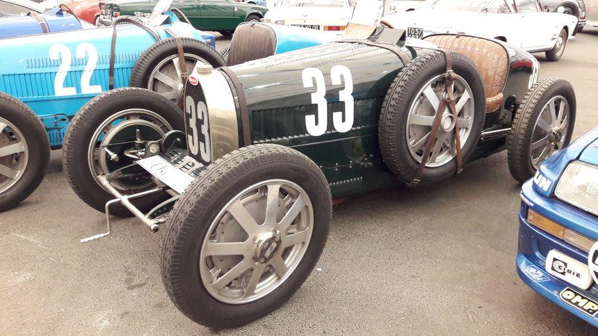 Bugatti type 35, à Strasbourg le 1er mai 2018 - Radio France