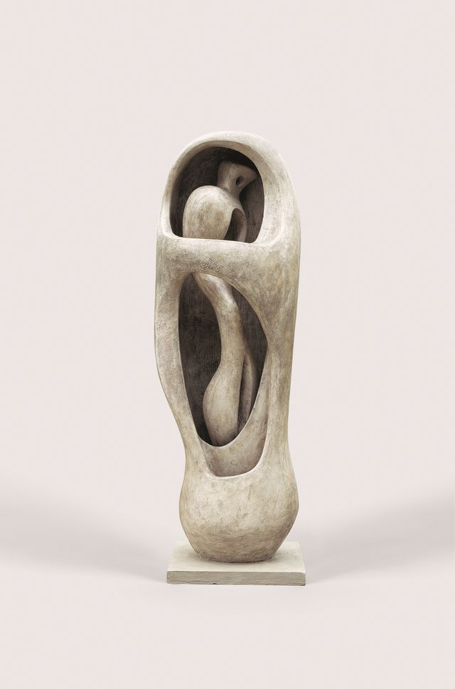 Henry Moore, Upright Internal External Form, 1952-53
