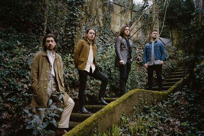 Les quatre Anglais de Arctic Monkeys remontent sur scène pour défendre leur nouvel album 'Tranquility Base - Hotel + Casino'