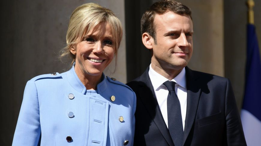 Emmanuel et Brigitte Macron (photo d'illustration)