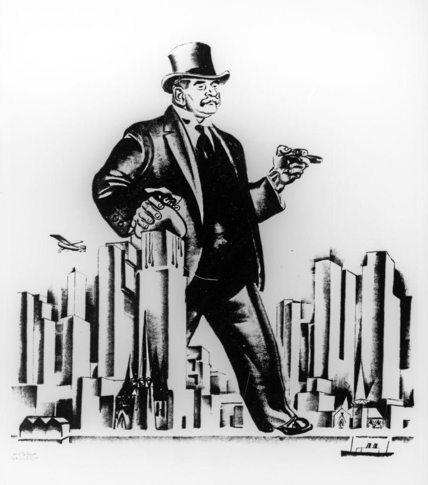 Illustration du Capital par Hugo Gellert