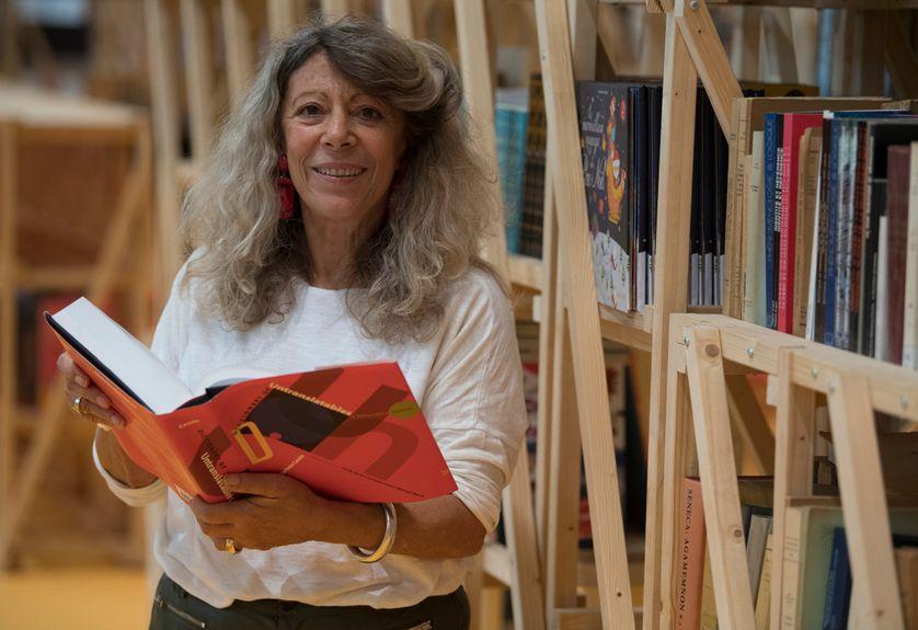 Barbara Cassin à la Foire du livre de Francfort 2017