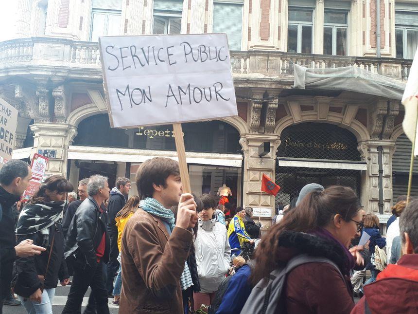 L'amour du service public