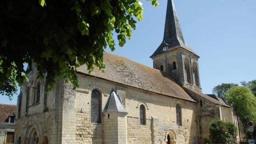 L'église de La Celle-Guenand
