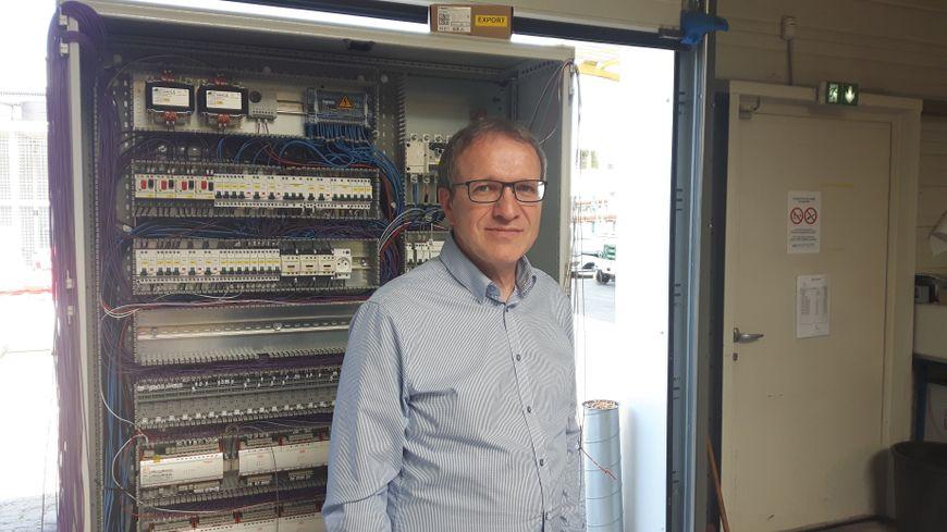 Daniel Litzelmann, dirigeant de la société Génie climatique de l'Est.