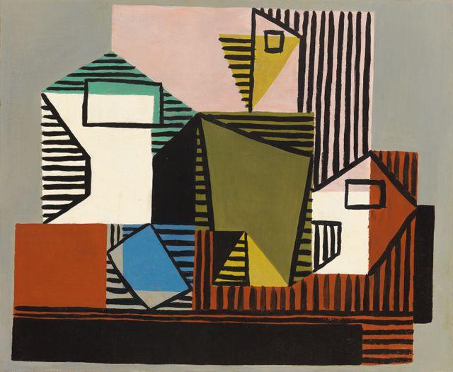Pablo Picasso Compotier, Bouteille et verre, 1922