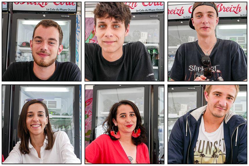 """6 Bénévoles du pôle """"loges artistes"""""""