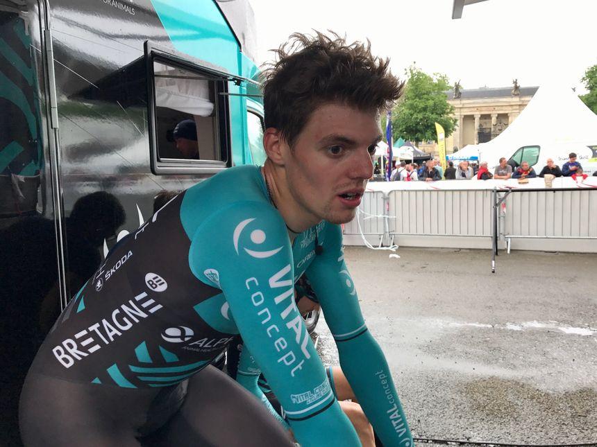 Justin Mottier n'a pas pu atteindre son objectif de renter dans le top 10 du prologue.