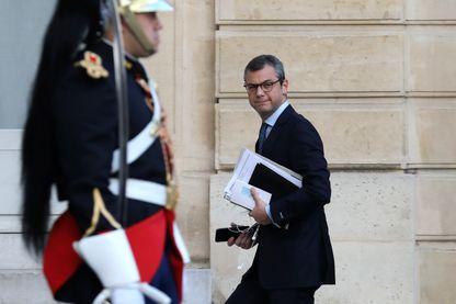 Alexis Kohler, secrétaire général de l'Élysée, le 19 octobre 2017.