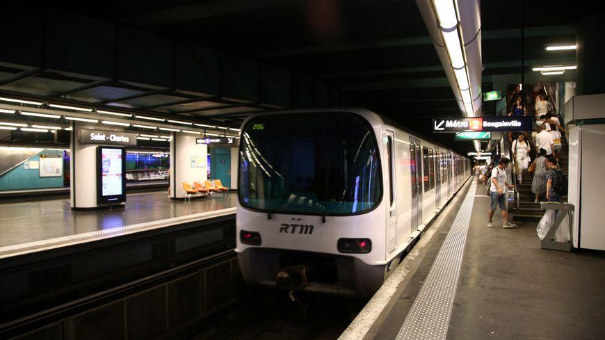 Le métro marsaillais
