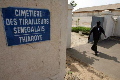 Il y a 210 tombes au cimetière-musée des tirailleurs sénégalais de Thiaroye.
