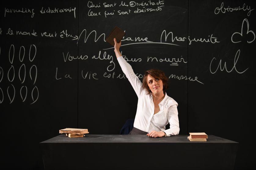 """Stéphanie Bataille dans """"Madame Marguerite"""" de Roberto Athayde, mise en scène d'Anne Bouvier"""