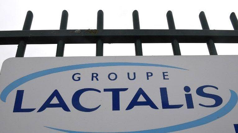 L'usine Lactalis de Craon.