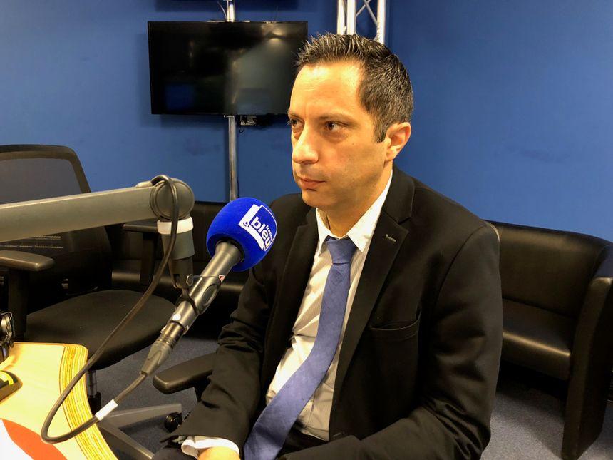 Fabrice Pinteau - proviseur du Lycée Gallieni