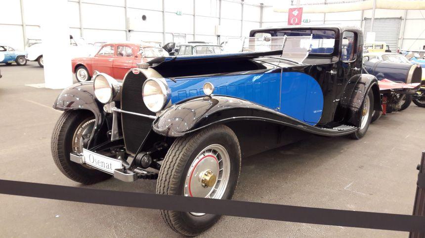 Bugatti type 46, coupé de ville, à Strasbourg le 1er mai 2018 - Radio France