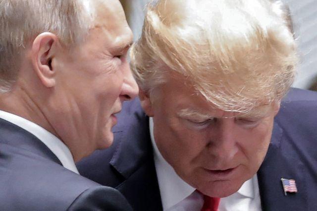 Poutine et Trump au sommet Asie-Pacifique en 2017
