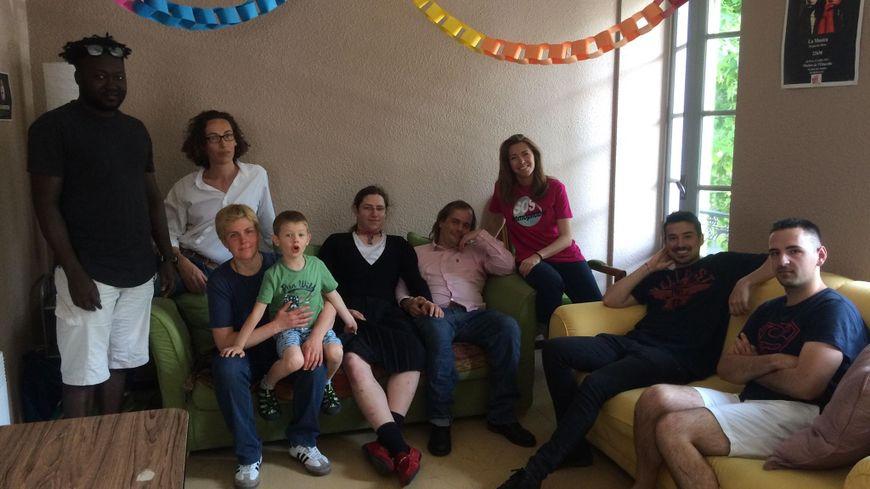 Les membres de l'association la LanGouste à BreTèlle réunis pour les 5 ans du Mariage pour tous