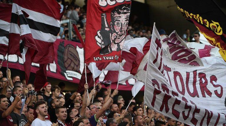 Les supporters Grenats, toujours fidèles, malgré les déboires sportifs du FC Metz cette saison