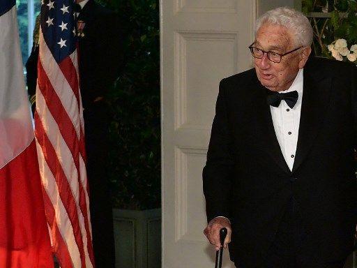 Henry Kissinger, l'an dernier.