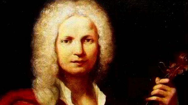 Portrait of the italian composer Antonio Vivaldi