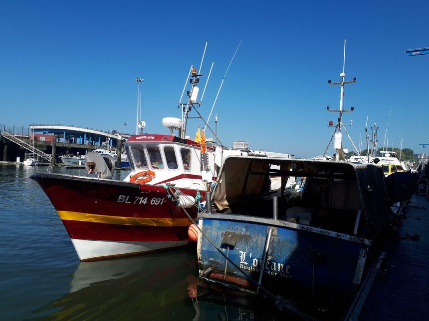 """Le """"Corentin Lucas"""" a investi pour se lancer dans la pêche avec des casiers pour le homard, le crabe et la seiche."""