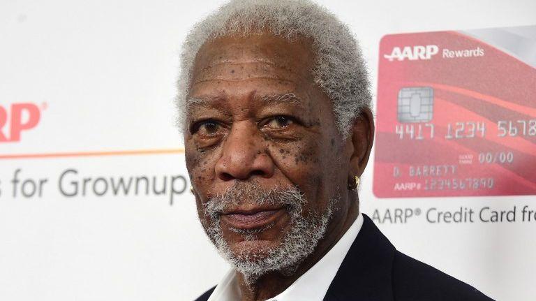 L'acteur américain, Morgan Freeman