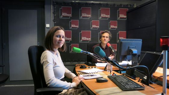 France Musique, studio 142... Elise Petit & Philippe Venturini