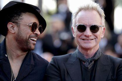 Shaggy et Sting à Cannes en mai 2018