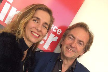 Barbara Carlotti et Didier Van Cauwelaert