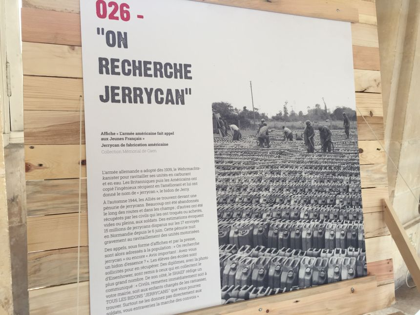 Le jerrycan, arrivé avec les GI's, est devenu une denrée rare et précieuse, et a fait l'objet d'un véritable trafic.