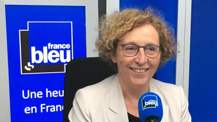 La ministre du Travail Muriel Pénicaud, invitée de France bleu ce lundi.