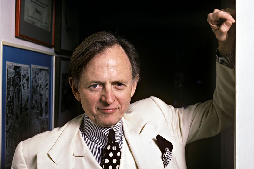 Tom Wolfe à New York en janvier 1988